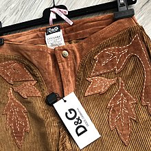 原價五萬 吊牌完整 Dolce & Gabbana 駝色長褲