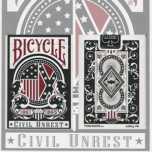 【USPCC撲克】Bicycle Civil Unrest Playing Cards Union Tuck