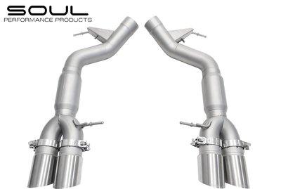 【樂駒】 Soul Performance Products BMW M6 Resonated Exhaust