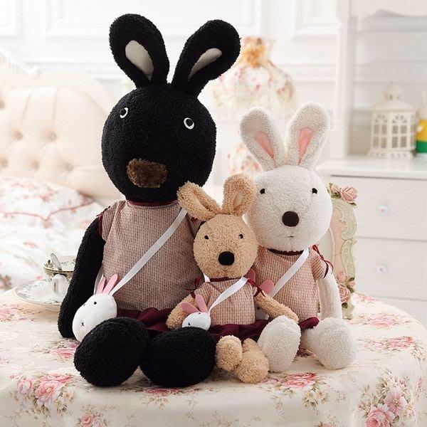 娃娃屋樂園~Le Sucre法國兔砂糖兔(小兔背包款)30cm/絨毛娃娃玩偶禮物桃園婚禮小物喜帖二次進場金莎花束棉花糖