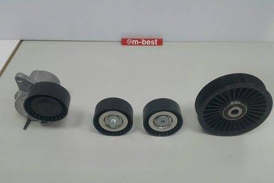 BENZ W204 OM651 2009- 平面 皮帶惰輪 惰輪座上 (4顆套餐) 6512000370/0270