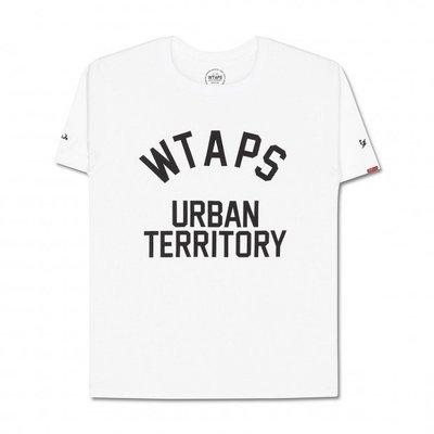 WTAPS URBAN TERRITORY 15ss 西山徹 白色 短袖 TEE 現貨商品