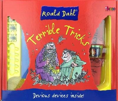[邦森外文書] Roald Dahl Terrible Tricks 羅德.達爾 惡作劇小道具套件盒裝組