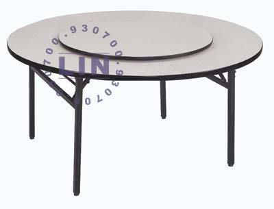 【品特優家具倉儲】536-17餐桌4尺圓白碎石餐桌/不含轉盤