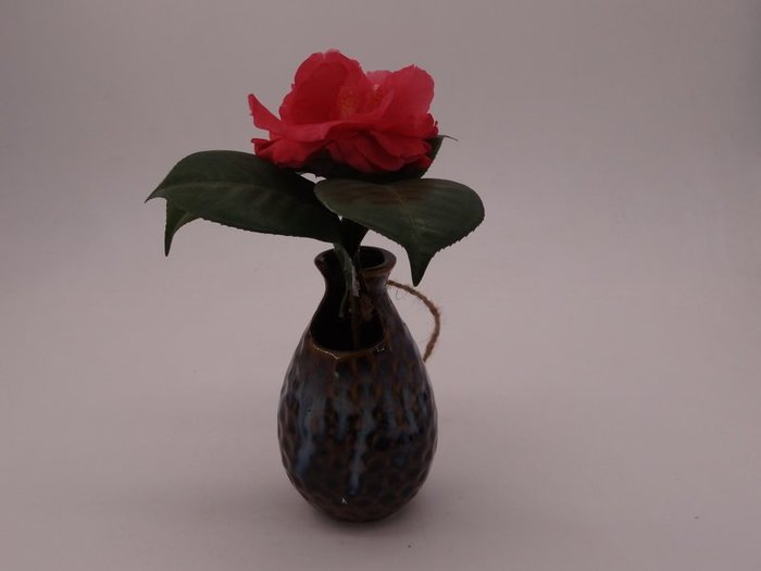 AB-005簡約現代台面創意陶瓷流釉花瓶插花家居陶瓷工藝品擺件