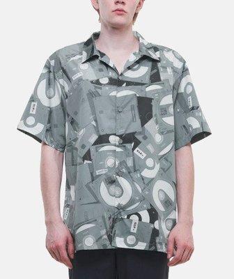 C2H4 DISPOSED FLASHDRIVE FULL PRINT SHORT SLEEVE SHIRT 襯衫