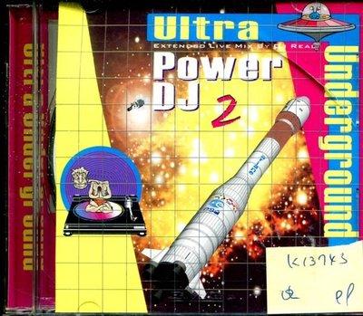 *真音樂* ULTRA UNDERGROUND / POWER DJ 2 二手 K13743