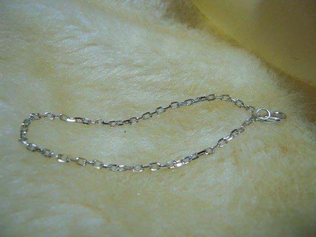 ※水晶玫瑰※ 925純銀手鏈(RD120)