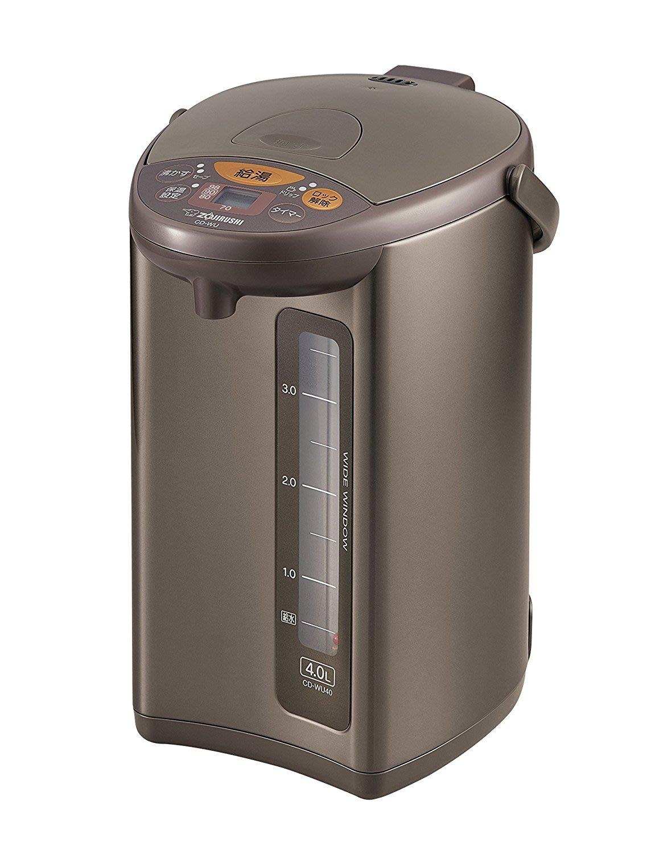 日本代購 ZOJIRUSHI 象印CD-WU40 4L電熱水瓶 熱水壼 4段溫度 省電   蒸氣抑制 咖啡 預購