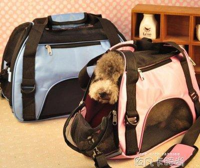 狗狗背包外出包寵物包外出便攜包狗包貓箱旅行包狗箱外出攜帶提包QM 《限時免運》