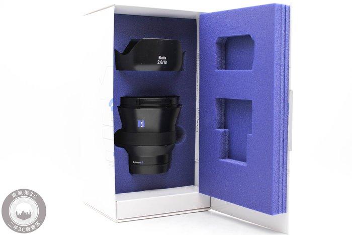 【高雄青蘋果3C】Carl ZEISS Batis 18mm F2.8 FOR E-Mount E接環 #49184