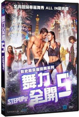 合友唱片 舞力全開5 Step Up : ALL IN 全新正版 DVD 面交 自取