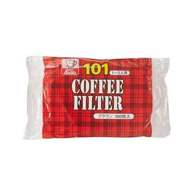 【附發票】 買五送一 日本 Kalita 101 扇形 無漂白 濾紙 NK101 100 入 101濾杯專用 咖啡濾紙