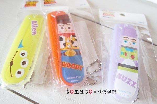 ˙TOMATO生活雜鋪˙日本進口雜貨迪士尼玩具總動員胡迪/巴斯光年/三眼怪攜帶扁梳