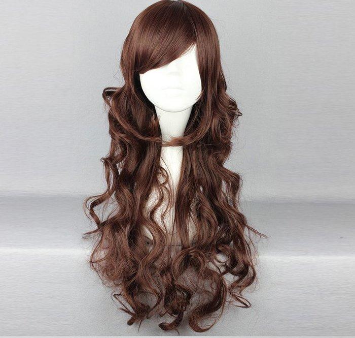高雄艾蜜莉戲劇服裝表演服*cospaly假髮*長捲假髮60CM-425A購買價$450元