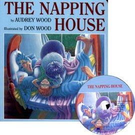 *小貝比的家*NAPPING HOUSE /平裝書+JYCD (打瞌睡的房子) 【31】