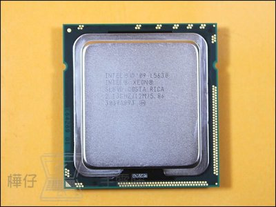 【樺仔中古電腦 】Intel XEON L5630 ( 12M Cache, 2.13 GHz, 5.86 GT/s ) 4核8線程 CPU 正式版