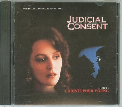 """Judicial Consent""- Christopher Young(20),美版"