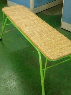 WU016.藤面工作椅.藤面長條椅.長條藤椅.籐椅.藤編椅子.針車椅.藤椅工廠.
