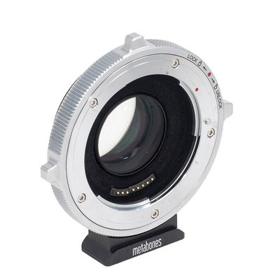 Metabones專賣店:Canon EF- M43 T CINE Speed Booster Ultra 0.71x(總代理義文公司貨)(BMPCC 4K)