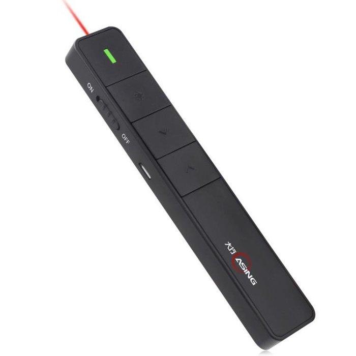 現貨/ASiNG/大行A218翻頁筆PPT遙控筆免郵投影筆充電電子教鞭演示器119SP5RL/ 最低促銷價