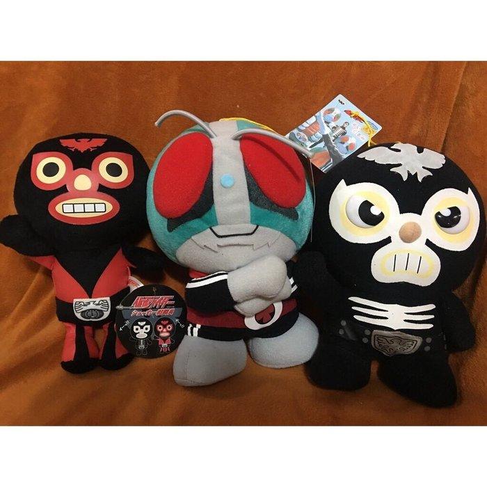 日本原裝 假面騎士 玩偶三件組 特賣會開跑