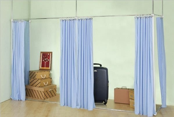 【中華批發網DIY家具】S-20-03-ㄇ型延伸型伸縮防塵屏風(Aㄇ45*105/105*45 )