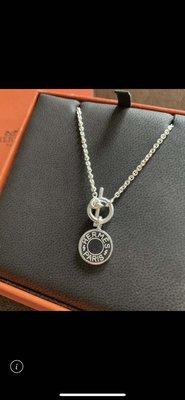 俏媽咪的私人舖    Hermes 925純銀 鎖頭 項鍊/頸鍊