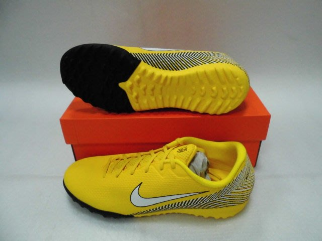 【n0900台灣健立最便宜】2018 NIKE (小顆粒)足球鞋Neymar Vapor 12 TF AO3121-71