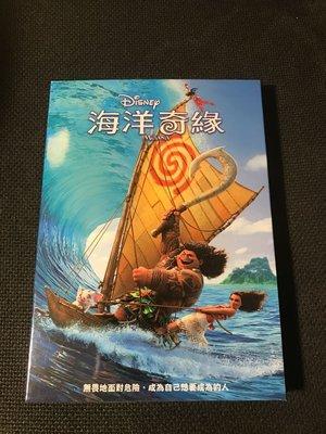 (全新未拆封)海洋奇緣 Moana DVD(得利公司貨)限量特價