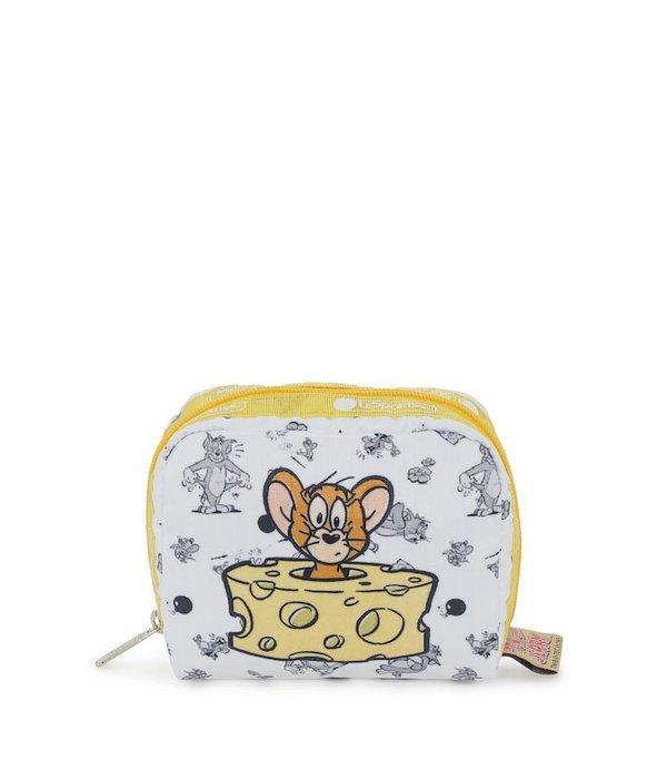 ♥ 小花日韓雜貨 ♥ --特價 Lesportsac 6701 湯姆與傑利 tom and jerry 化妝包零錢包