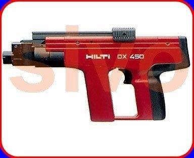 ☆SIVO電子商城☆喜得釘 HILTI DX 450 火藥擊釘器 火藥釘槍 火藥槍 ~ 實體公司店面~