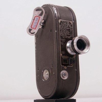 百寶軒 工業風古董美國KeystoneK-88毫米8mm電影攝影機發條工作 ZG1412