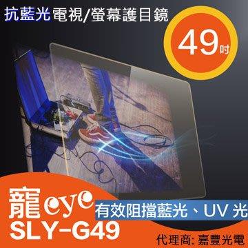 送清潔組【寵eye】49吋 抗藍光液晶電視/螢幕護目鏡 (SLY-G49)