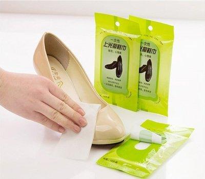 《便攜式皮革亮光保護清潔濕巾》皮具皮飾護理濕巾/單包10片裝