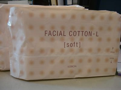 ❤Tina的家❤albion艾倫比亞健康化妝水專用化妝棉