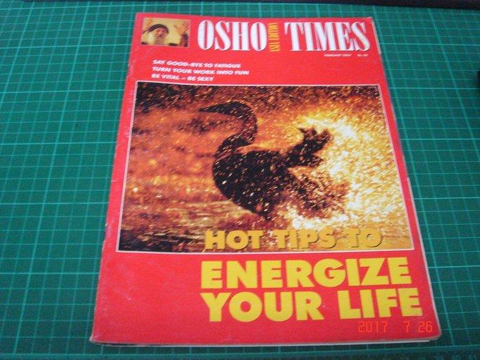 早期 奧修 雜誌《OSHO TIMES ASIA EDITION FEB/2003 RS.20》【CS超聖文化讚】