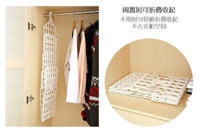 創意折疊衣櫃 懸掛式衣櫃【小三層】收納架衣物整理架寢室宿舍儲物架置物架