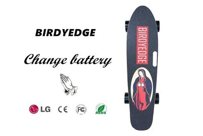 BIRDYEDGE 聖母可拆卸電動滑板 LD01 電動滑板車 手提 USB 行動電源 全台灣首發設計