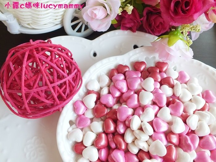 小露c媽咪 加拿大3LSprinkles 食用糖珠LM0013 100g 情人節款糖片/食用糖珠/裝飾糖珠/彩色糖珠