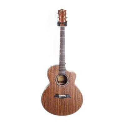 立昇樂器 Deviser 150N-40 JF桶 全胡桃木 缺角木吉他 40吋