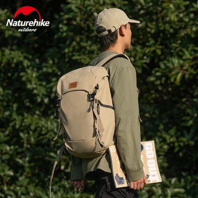Naturehike挪客戶外背包男女休閑徒步旅行登山防潑水雙肩包大容量