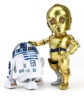 正版【Star Wars】EAA-010《星際大戰五部曲:帝國大反擊》C-3PO & R2-D2 雙入組