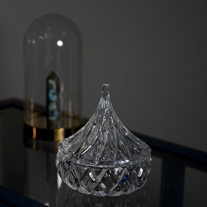 Lissom韓國代購~消磁碗|VISHI未時水晶珠寶首飾專用凈化御守鹽能量聚集玻璃容器皿