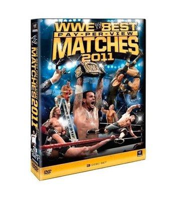☆阿Su倉庫☆WWE摔角 Best PPV Matches of 2011 DVD 2011年度PPV大賽精選特輯 熱賣特價中