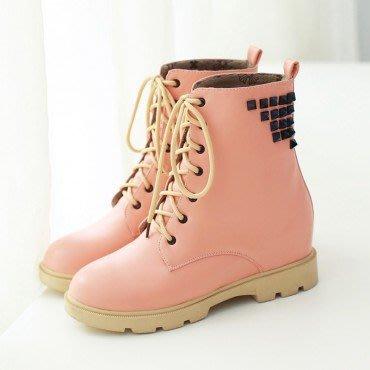 yes99buy加盟-素面防滑平跟短筒女靴