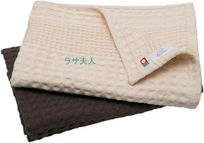 (米+咖現貨)拉薩夫人◎日本◎今治認證 可愛鬆餅格子 華夫餅 速乾透氣- BATH TOWEL/2件組
