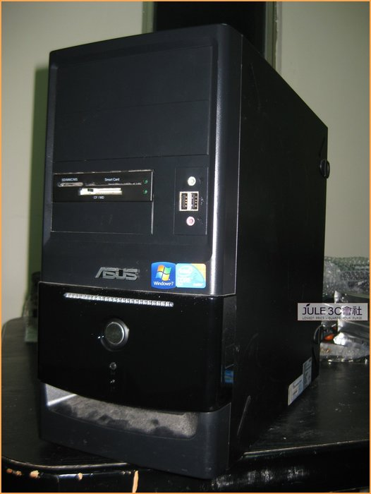 JULE 3C會社-華碩ASUS i5 2400/四核心/8G/SSD 256G/USB3/WIN10 套裝電腦