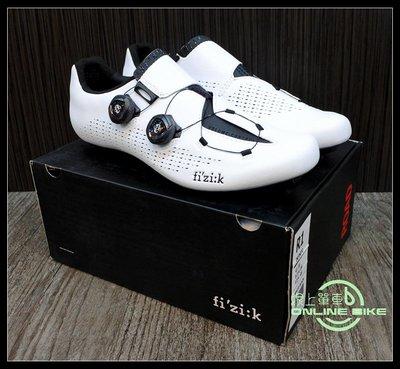 【online bike】線上單車 FIZIK R1 INFINITO 白 免運 車鞋 卡鞋