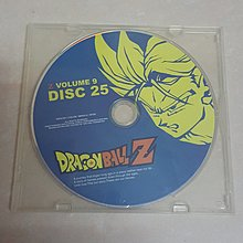 DRAGON BALL Z VOLUME 9 Disc 25